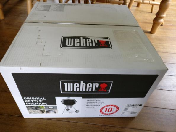 Weber in doos